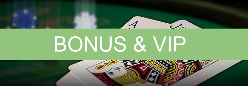 Type bonussen en VIP casino's